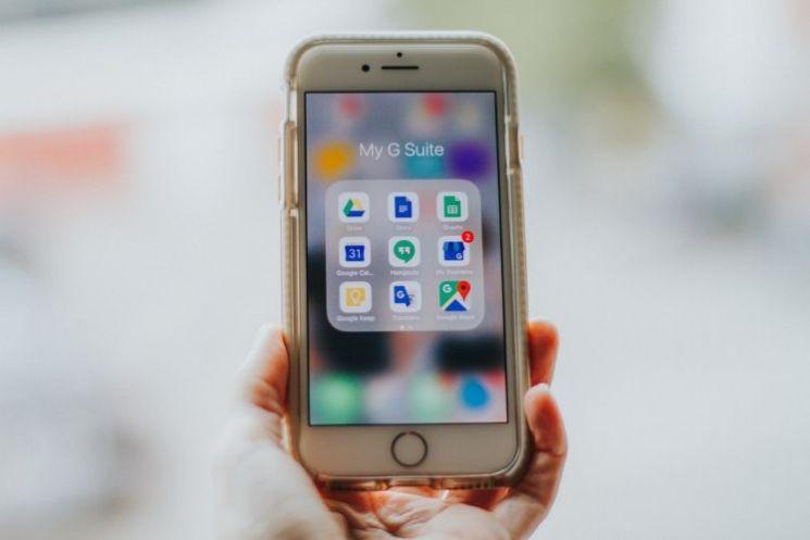 smartphone con G Suite