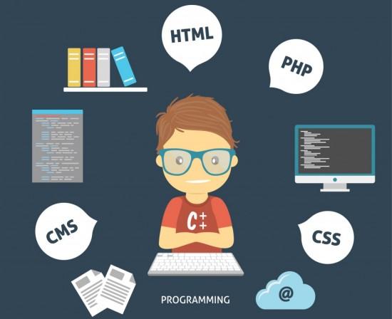 disegno sviluppatore app e linguaggi programmazione