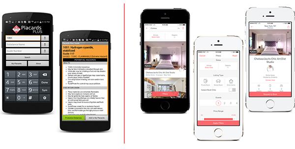 smartphones con applicazioni