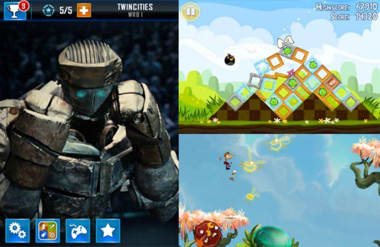tre diversi giochi online