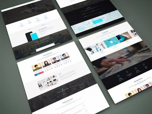 esempio schermate siti web