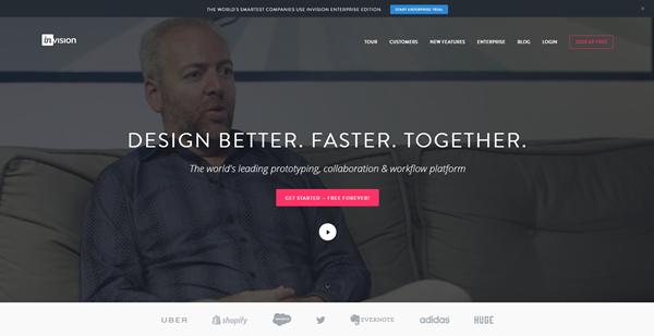 schermata sito web design