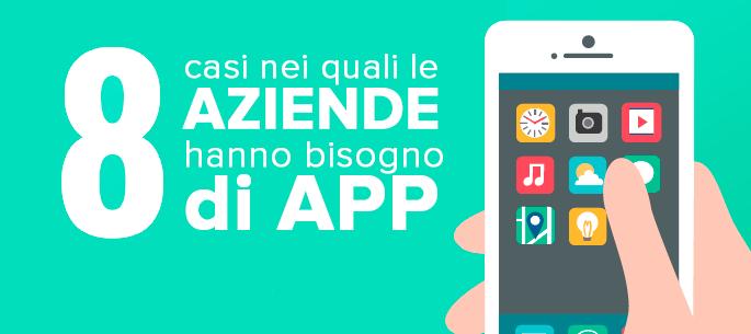 Quando un'azienda ha bisogno di un'app?