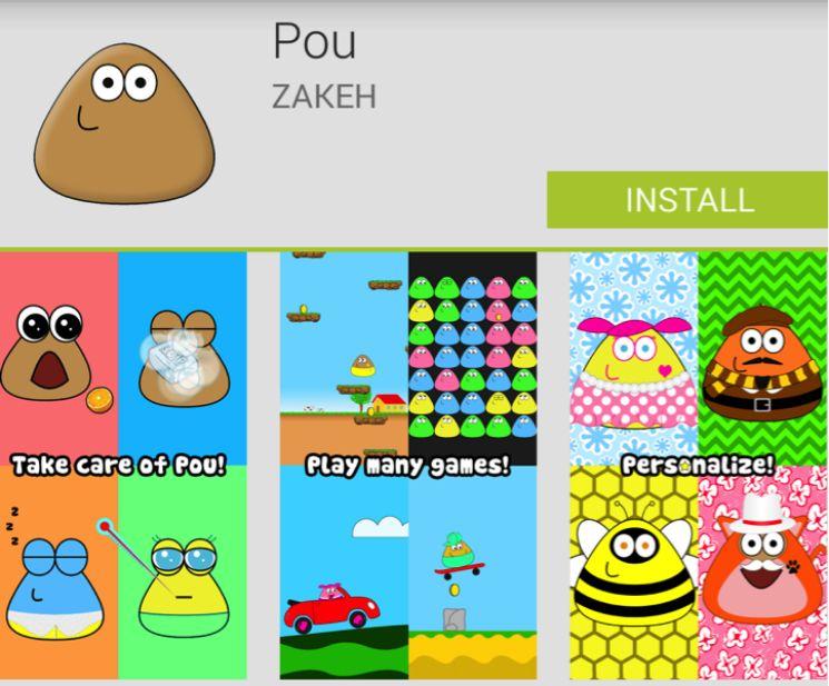 app Pou nello store