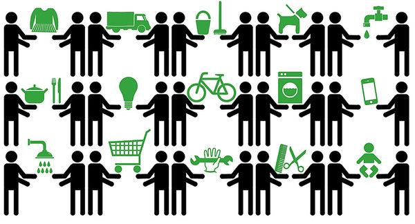 immagine su sharing economy