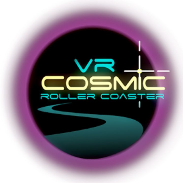 logo VR Cosmic Roller Coaster