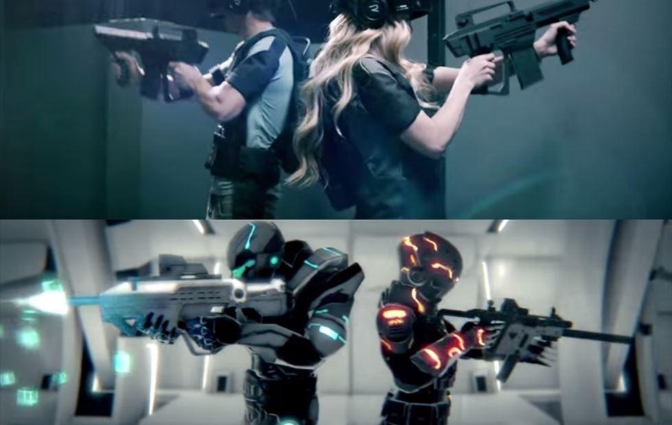 persone con armi virtuali