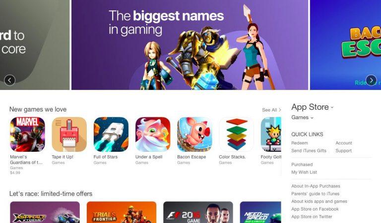 screenshot giochi su Play Store