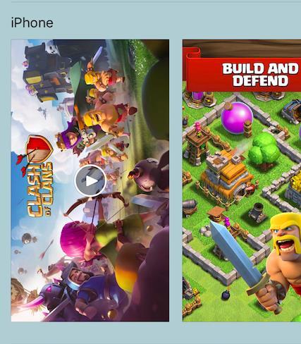 screenshot Clash of Clans iPhone