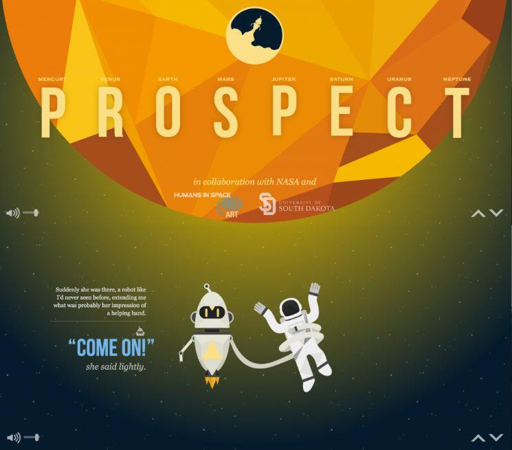 immagine con scritta Prospect