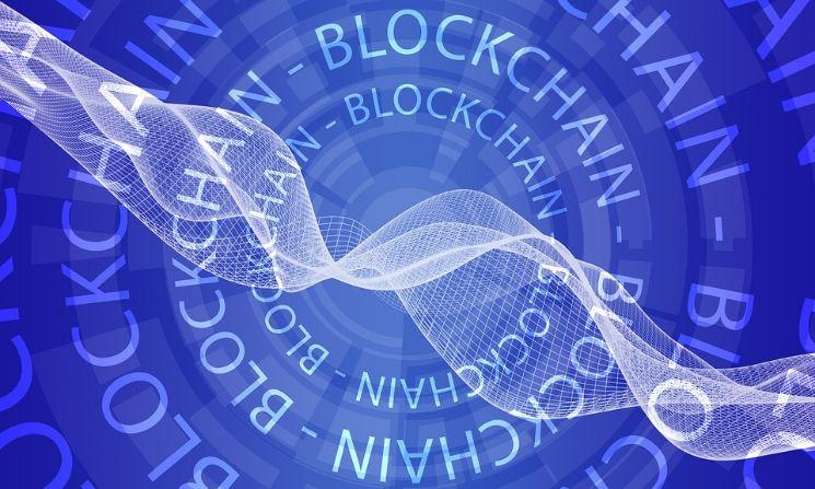 scritte blockchain in loop - blockchain