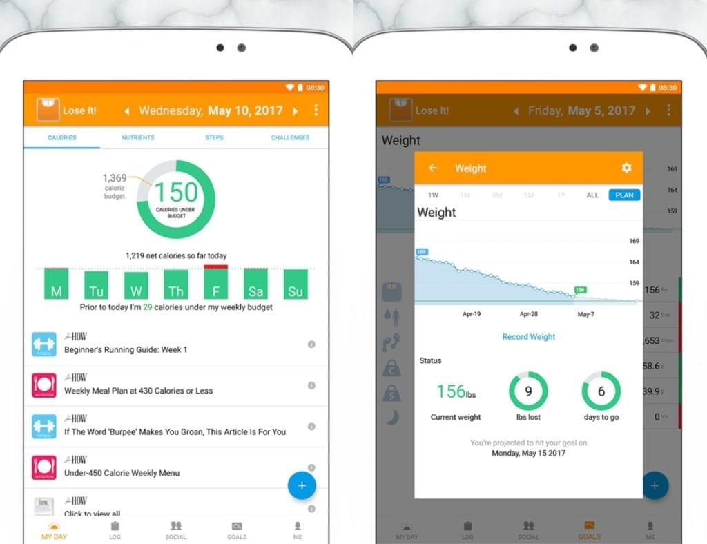 app per la salute lose it