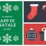 collage di immagini di Natale