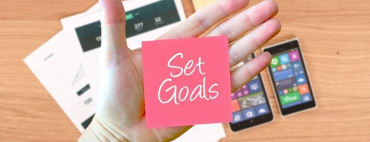 Set goals - come fare un app