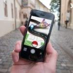 smartphone con Pokemongo