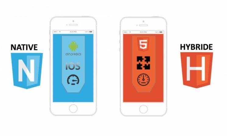 smartphone con app native ed ibride