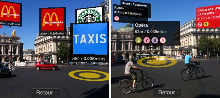 applicazione metro di Parigi