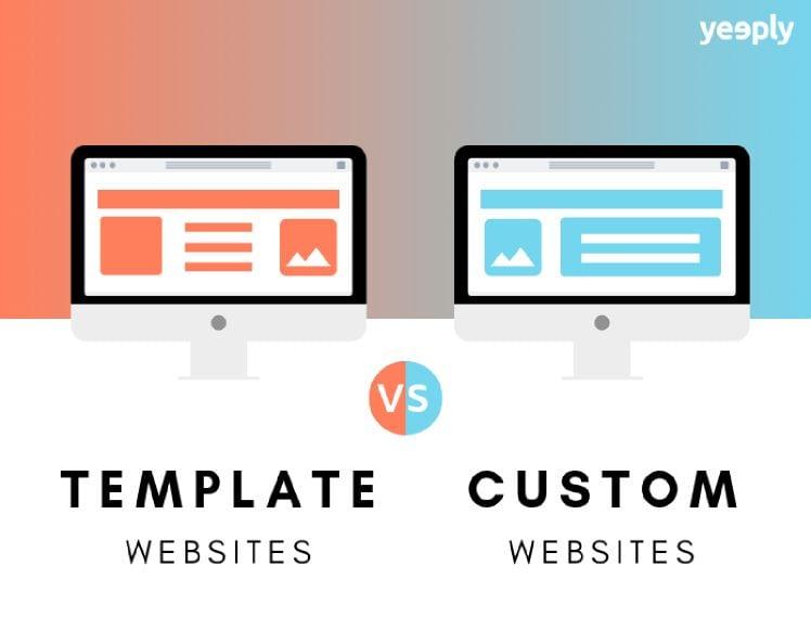 disegno diversi tipo di siti web