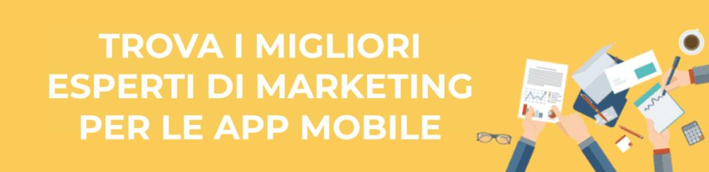 banner - esperti marketing - app mobile