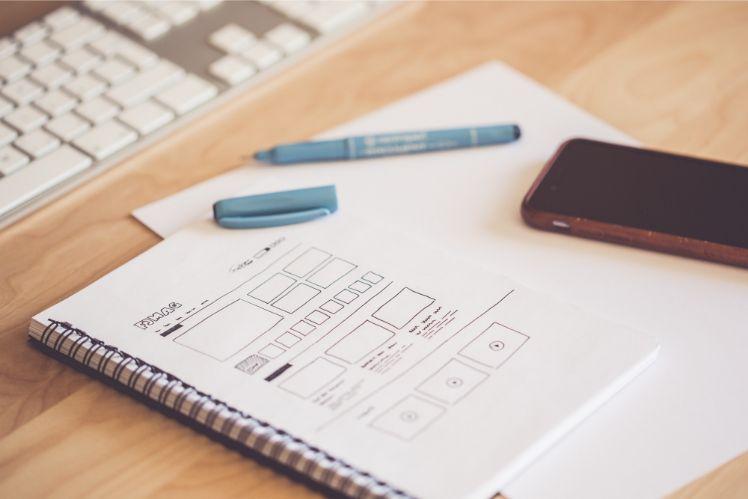 app personalizzata - notebook - app mobile