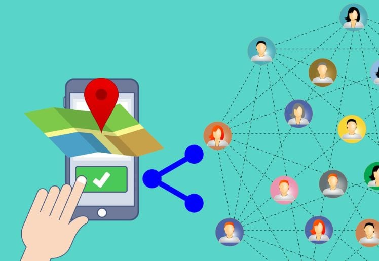 dispositivi mobile - geolocalization - mobile