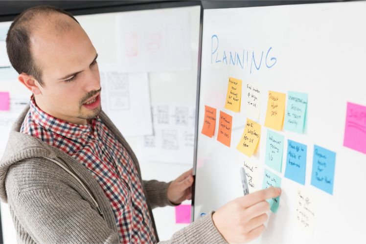 planning - scrum management - manager