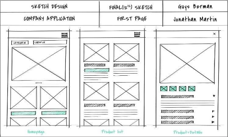 sketch design - progettazione - design