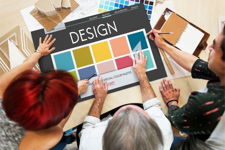 web layout- importanza dei colori nel web design