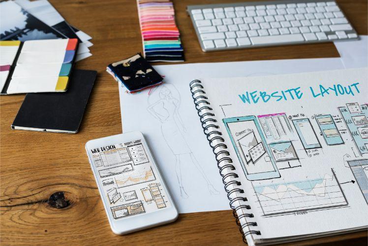 web design- influenza dei colori
