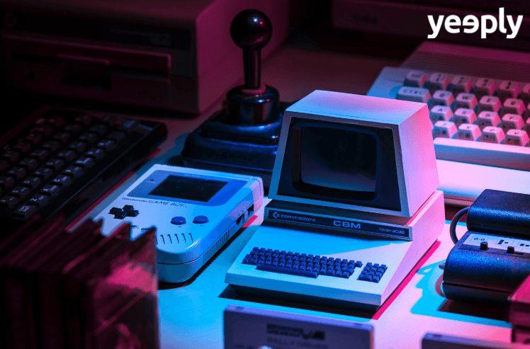 varie console per giochi