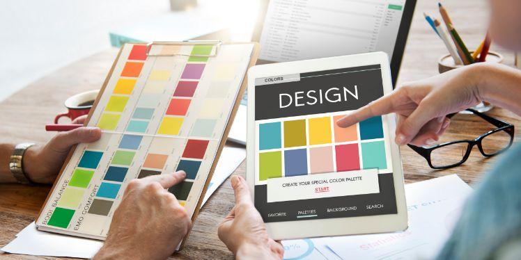 mani con colori design - errori di web design