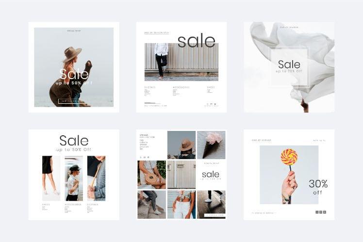 esempi design e-commerce