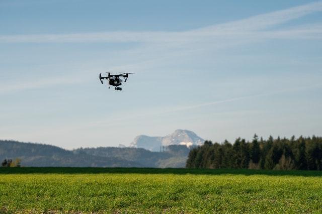 drone sui campi